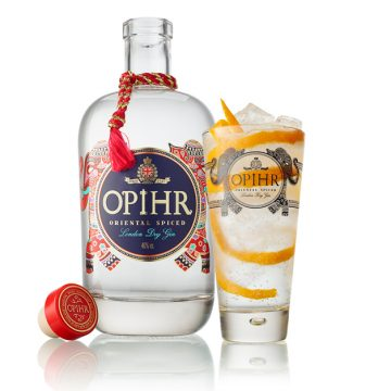 Opihr Gin and Ginger Cocktail
