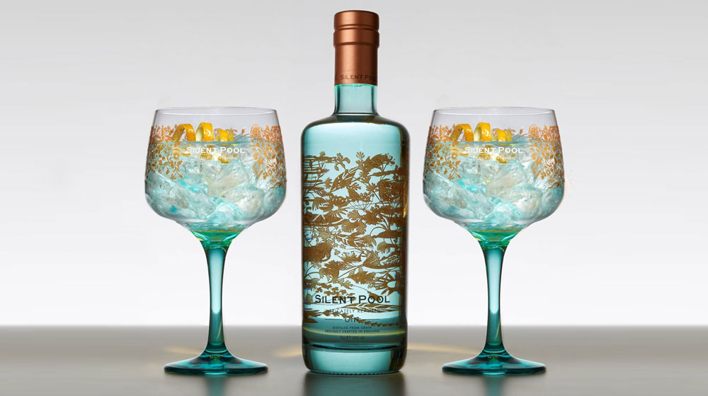 It s arrived - Silent pool gin ...