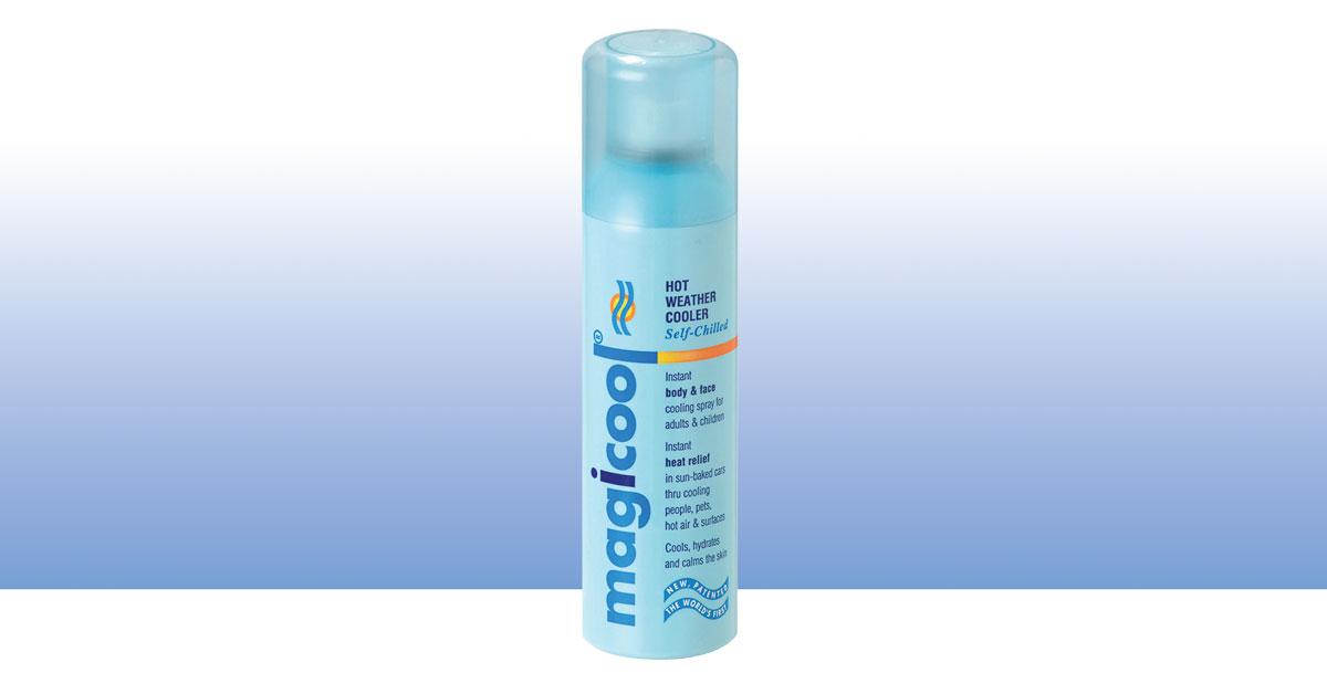 Magicool spray pack