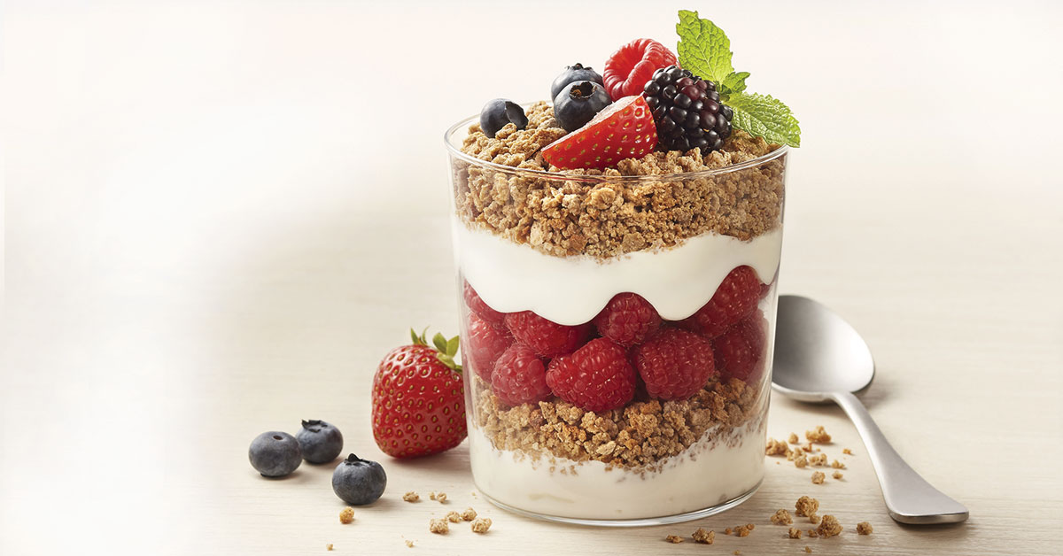 Grape-Nuts Parfait serve