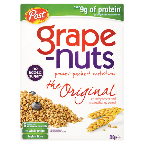 Grape-Nuts pack