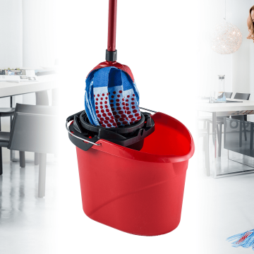 Vileda SuperMocio 3Action  XL Mop and Vileda Bucket with Torsion Wringer