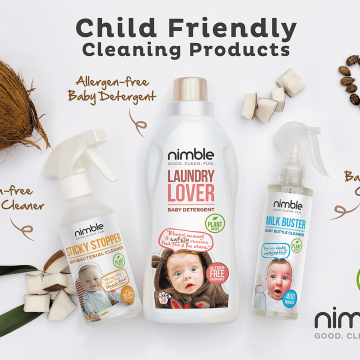 Child Friendly, Plant Based Cleaning